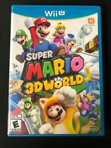 Super Mario 3D World (Wii U, 2013) Complete!