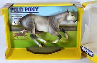 BREYER SANTIAGO POLO PONY #1744 LE  STAR DAPPLE GRAY TRADITIONAL MODEL HORSE