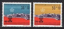Liechtenstein - 1960 Refugee year -  Mi. 389-90 MNH