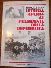 Lettera aperta al Presidente della Repubblica - Pasquale Billa, 1978
