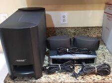 BOSE AV 3-2-1 Series III DVD Receiver Audio Media System AV 321