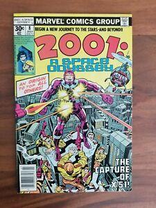 2001 A Space Odyssey #8 (Marvel 1977) : 1st Machine Man : VF 8.0