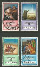 Malawi 1993 Christmas/Nativity--Attractive Art Topical (624-27) used