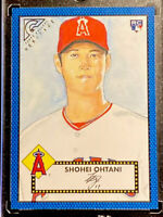 2018 Shohei Ohtani RC /99 BLUE Topps Gallery Heritage Rookie