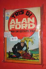 ALAN FORD-RACCOLTA TRIS N° 3-contiene originali n°51-53-54-MAGNUS corno no tnt