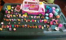 Lot of over 115 Shopkins Accessories Toys plus Van Bus Figures Lot
