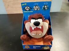 Tasmanian Devil Tornado Taz Plush Doll Stuffed Animal Talking Spinning 1997