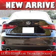 Painted for Lexus IS250 IS350 IS F Window Rear Trunk Lip Spoiler #202 BLACK §