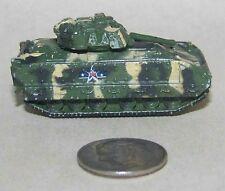 Small Micro Machine Plastic M-2 Bradley IFV in Green/Sand Camouflage