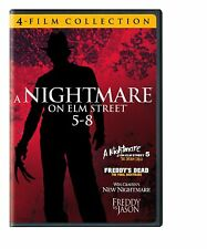 4 Ff Nightmare on Elm Street 5-8 Freddy vs Jason New free shipping