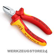 Knipex 7006 VDE Seitenschneider 7006125 - Zange, verchromt, isoliert VDE, 125 mm
