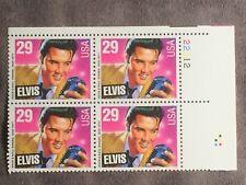 SCOTT US #2721 1993 ELVIS PLATE BLOCK OF 4 STAMPS MNH