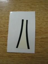RS15 Repro Scalextric Decal OFF WHITE FRONT C6 PANTHER   NEED CUTTING OUT