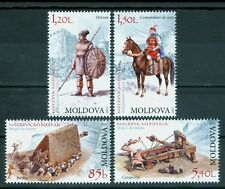 2012 Medieval weapons,Siege engine/Battering ram,Catapult,Soldier,Moldova,795MNH
