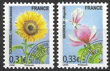 France-Timbres préoblitérés-Flore-Fleurs-Y&T n° 257/258 neufs**