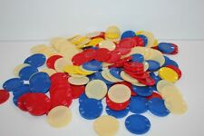 Pleasantime Poker Chips Plastic Assorted