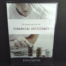 Joyce Meyer The Cause And Cure For Financial Deficiency Christian Teaching DVD