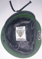 Béret Vert avec insigne TAP PARA 2°REP LÉGION ÉTRANGÈRE Taille * Size L / TT 57