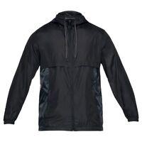 Under Armour Sport Style Giacca a vento da uomo BLACK 1306482-001