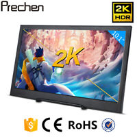 "10,1 ""tragbarer Gaming Monitor 2560x1600 2K IPS LCD Display mit 2 Mini HDMI USB"