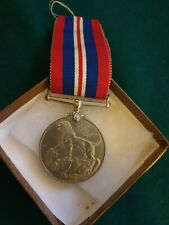 British ww2 service medal with box