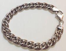 bracelet bijou vintage argent 925 poinçon maillon déco 363