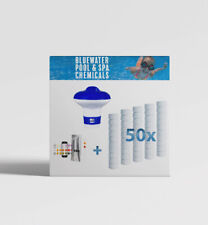 More details for bluewater swimming pool starter chemical chlorine tablets treatment kit