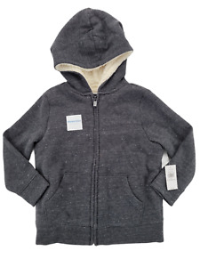 Old Navy Toddler Boy Full-Zip Sherpa Lined Hoodie Size 4T
