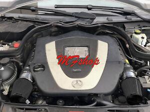 All Black For 2008-2012 Mercedes Benz C300 3.0L V6 Air Intake Kit