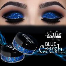 GlitterWarehouse Blue Crush Holographic Loose Glitter Eyeshadow Powder