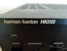 HARMAN  KARDON HK 6100 Vollverstärker Stereo Amplifier m. Gebrauchanleitung