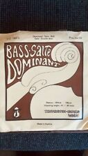 Upright Dominant Double Bass String