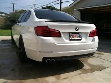 BMW PAINTED PERFORMANCE STYLE TRUNK SPOILER (ABS MATERIAL) FOR F10/F10 M5