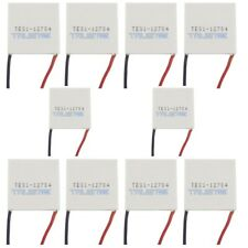 10PCS TES1-12704 Heatsink Thermoelectric Cooler Cooling Peltier Plate Module