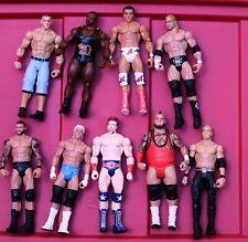 WWE Mattel Basic Action Figures Triple H Christian Orton Ziggler Cena Big E_s48D