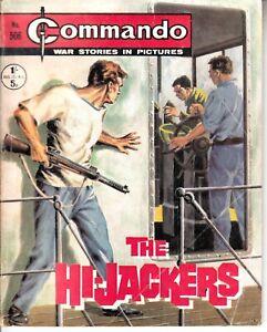 COMMANDO COMIC - No 506   THE HIJACKERS