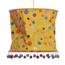 LOKTA Papierlampe / Hängeleuchte - Punkte gelb ... NEU/OVP