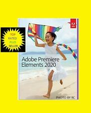 NEW CD IN A BOX ADOBE  Premiere Elements 2020 - Mac|Windows