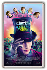CHARLIE AND THE CHOCOLATE FACTORY FRIDGE MAGNET IMAN NEVERA