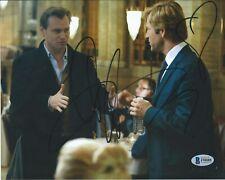 Aaron Eckhart Dark Knight BAS COA Signed 8x10 Photo Autographed Beckett 88