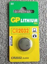 LITHIUM BATTERY 3V GP CR2032 CR 2032 (DL2032) X 5 PCS