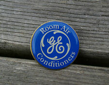GE Room Air Conditioners Electric Union Made USA Metal Enamel Lapel Pin Pinback
