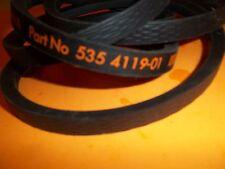 NEW  HUSQVARNA V BELT  FITS RIDER RIDER 16 155 AWD 535411901 585034501 OEM