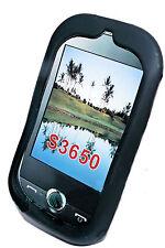 SILICONE TPU Case Cover per Cellulare Nero per Samsung s3650 + Proteggi Schermo