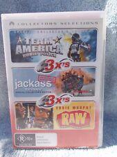 TEAM AMERICA/JACKASS/RAW(3 DISC BOXSET)EDDIE MURPHY R R4