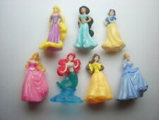 DISNEY PRINCESSES 2013 KINDER SURPRISE FIGURES SET - FIGURINES COLLECTIBLES