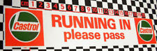 Running In Vinyl Cling Rear Screen Decal Classic Car- Austin Morris Vintage