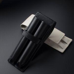Compatible Leather Pen Pouch Case for Cross Parker Pilot MONTBLANC Pen Pencil