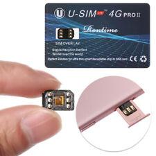 Perfect Unlock SIM Card U-SIM4G PRO II Nano For iOS 12 13 iPhone X XR XS Max