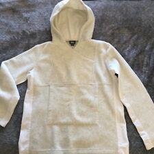 VINTAGE womens MOSSIMO made in Aust HOODIE long sleeve TOP quality fleece sz 10